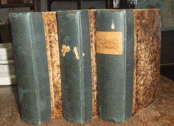 Tolhausen, Alexander (Bearb.): Technologisches Wörterbuch in französischer, deutscher und englischer Sprache. Kpl. in 3 Bänden. Durchgesehen von Louis Tolhausen.