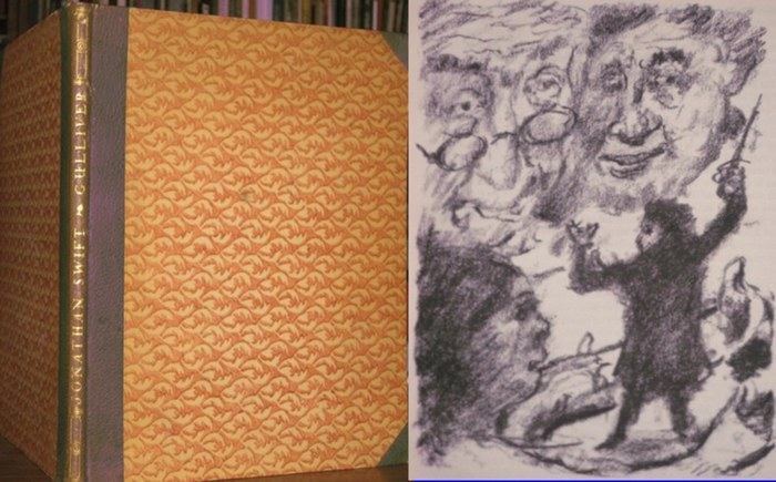 Corinth, Lovis (Illustrationen) / Jonathan Swift: Gullivers Reise ins Land der Riesen - Eine Reise nach Brobdingnag. Mit fünfundzwanzig Originallithograpien von Lovis Corinth.