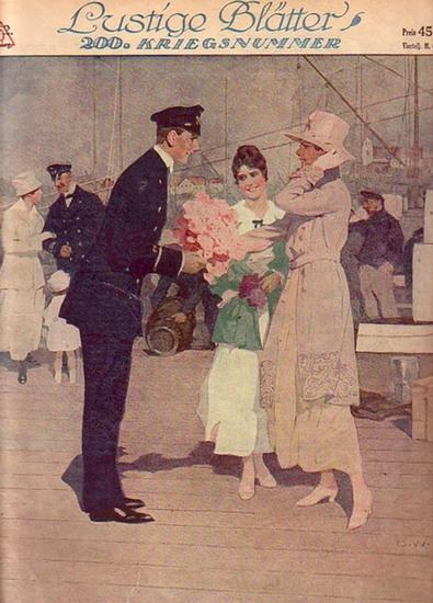 Lustige Blätter. - Gustav Hochstetter (Schriftleitung) Lustige Blätter. 200. Kriegsnummer, Jahrgang XXXIII, No. 22, 16. Mai 1918.