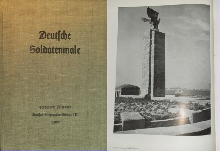 Gstettner, Hans: Deutsche Soldatenmale - Erbaut vom Volksbund Deutsche Kriegsgräberfürsorge e.V. Berlin. 0