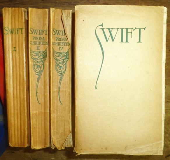 Swift, Jonathan: Prosa Schriften. Komplett in 4 Bänden. 0