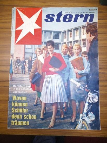 Stern. - Henri Nannen (Chefredakteur): Stern. Heft Nr. 13, Jahrgang 14, 1961.