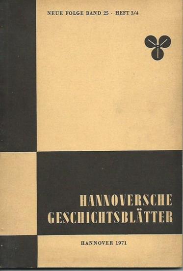 Oppler, Edwin. - Eilitz, Peter: Leben und Werk des königl. hannoverschen Baurats Edwin Oppler. In: Hannoversche Geschichtsblätter, Neue Folge, Band 25, Heft 3/4, 1971. 0