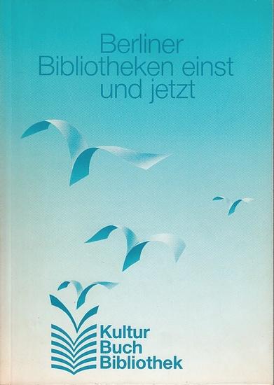 Flemming Thomas (Text): Berliner Bibliotheken einst und jetzt. (Begleitheft zur Austellung). 0
