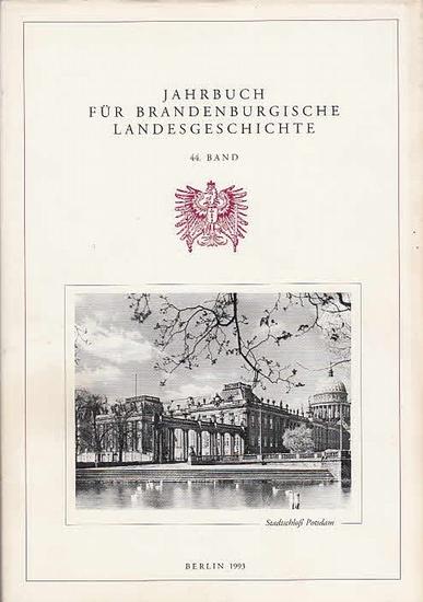 Jahrbuch für Brandenburgische Landesgeschichte. - Felix Escher / Lorenz Friedrich / Dr. Heinz Gebhardt / Eckart Henning / Martin Henning / Gerhard Küchler / Wolfgang Neugebauer / Kurt Pomplun / Dr. Werner Vogel (Hrsg.): Jahrbuch für brandenburgische La... 0