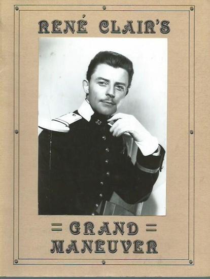 Clair, Rene. - Warfield, Nancy D.: René Clair's Grand Maneuver. The Little Film Gazette of N.D.W., Volume X, Number 1, December 1982. 0
