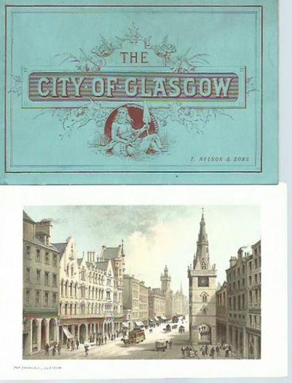 Glasgow. - Tourist's guide to Glasgow. With 12 chromo views. 0
