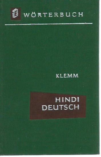 Klemm, Erika: Hindu - Deutsches Wörterbuch. Mit Vorwort. 0