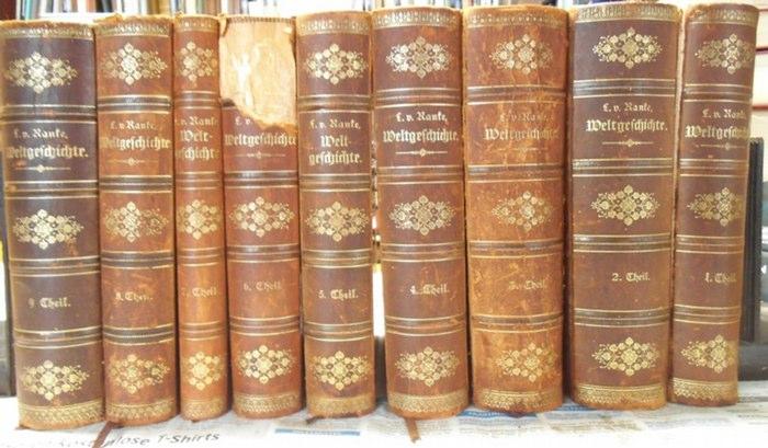 Hanke, Leopold von: Weltgeschichte. Kpl. In 9 Bänden. 0
