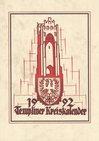 Templiner Heimatklub (Hrsg.): Templiner Kreiskalender. Heimatjahrbuch für 1992. 0