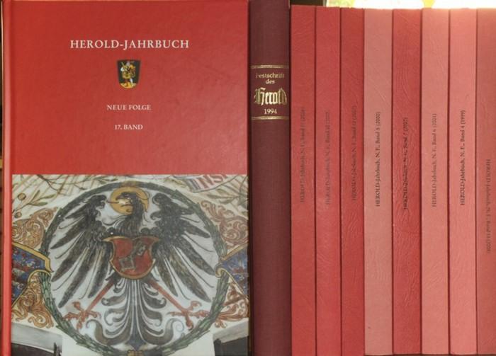 Herold-Jahrbuch. - Bahl, Peter und Henning, Eckart (Hrsg.): Herold-Jahrbuch. Neue Folge, komplett mit den Bänden 1-17. 0