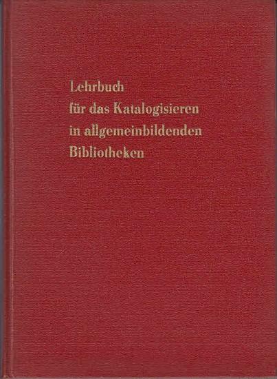 Reblin, Bodo: Lehrbuch für das Katalogisieren in allgemeinbildenden Bibliotheken. 0