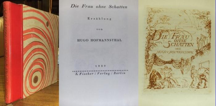Hofmannsthal, Hugo von / Hans Meid (Ill.): Die Frau ohne Schatten. Erzählung. Mit radiertem Titel von Hans Meid. 0