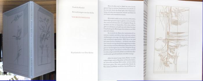 Kenko, Yoshida / Otto Rohse (Illu.): Betrachtungen aus der Stille. Tsurezuregusa. Übersetzt von Oscar Benl. 0