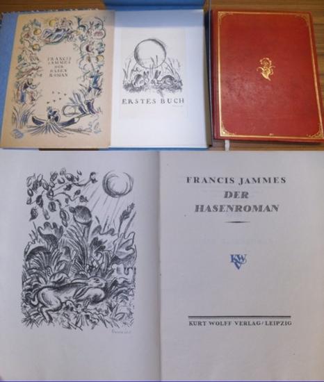 Jammes, Francis : Der Hasenroman. [Le Roman du Lievre].- 2 Teile 0