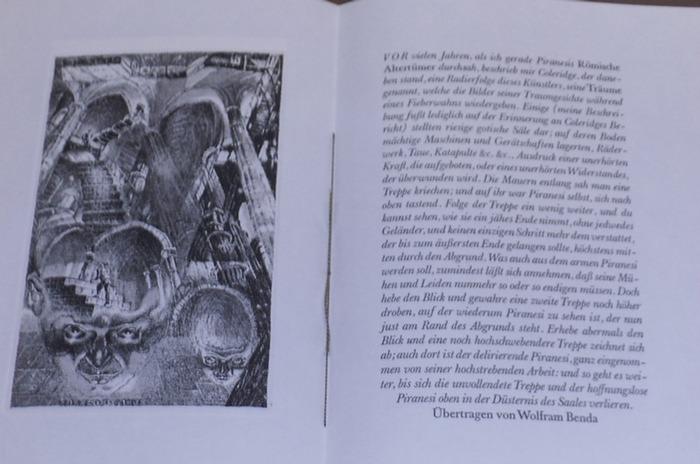 Quincey, Thomas de (Text) / Hubert Sommerauer (Ill.): Ein Traumbild.- Der Text wurde von Wolfram Benda übertragen. Mit Farbradierung von Hubert Sommerauer. 0