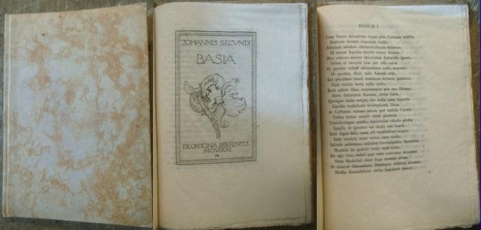 Johannes Secundus [d.i. Jan Nicolai Everaerts] / Behmer, Marcus (Original-Radierung): Johannis Secundi Basia. 0