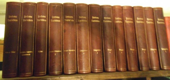 Brehm, Alfred Edmund / Strassen, Otto zur (Hrsg.): Brehms Tierleben. Allgemeine Kunde des Tierreichs. Komplett mit 13 Bänden. 0