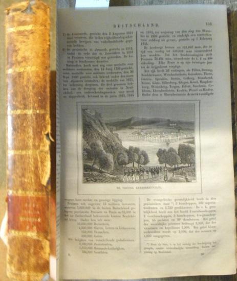 Witkamp, P.H. : Bischrijving van Duitschland. - De Aardbol. Magazijn van Hedendaagsche Land- en Volkenkunde. Vijfde Deel: Duitschland. Met Platen en eene Kaart. 0