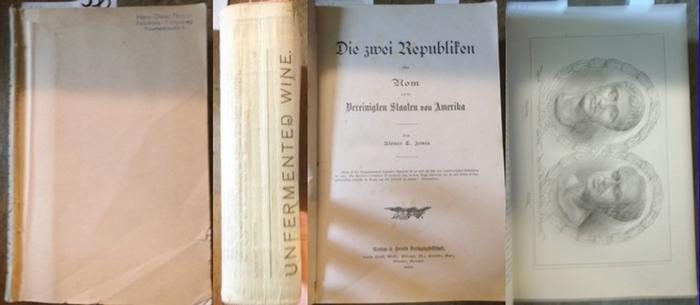 Jones, Alonzo T. : Die zwei Republiken oder Rom und die Vereinigten Staaten von Amerika. 0