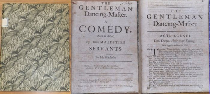 Wycherley, William : The Gentleman Dancing-Master. A Comedy, As it is Acted By Their Majesties Servants. 0