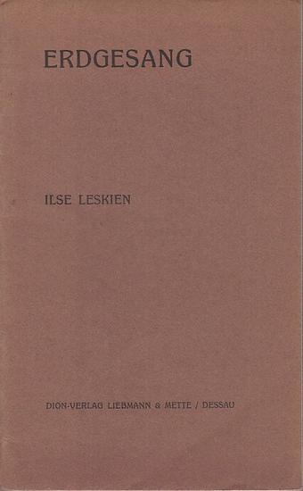 Leskien, Ilse: Erdgesang. 0