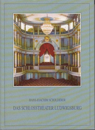 Scholderer, Hans-Joachim: Das Schloßtheater Ludwigsburg : Geschichte, Architektur, Bühnentechnik, mit einer Rekonstruktion der historischen Bühnenmaschinerie. (=Schriften der Gesellschaft für Theatergeschichte e.V. ; Band 71). 0
