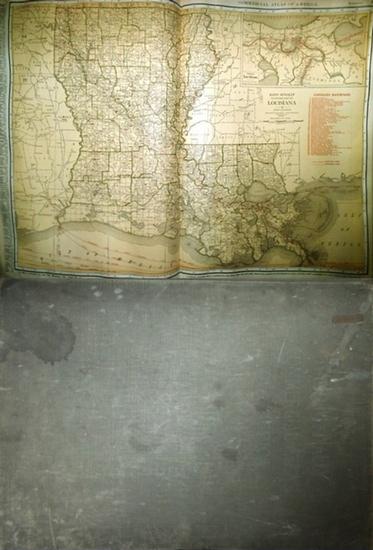 McNally, Rand: Rand McNallys Commercial Atlas of America. 0