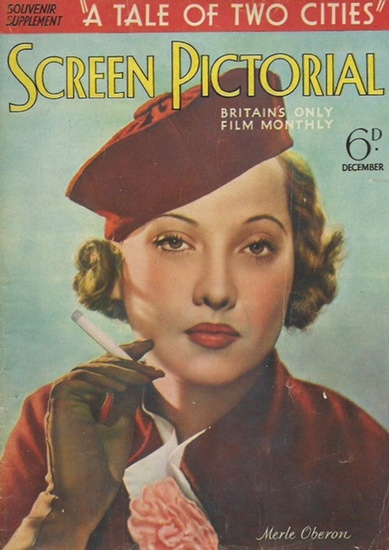 Film. - Souvenir supplement 'A tale of two cities'. Screen pictorial. Britain´s only film monthly. 6d. December 1935. 0