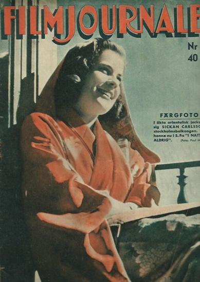 Film. - Filmjournalen. Nr. 23, 1941. 0