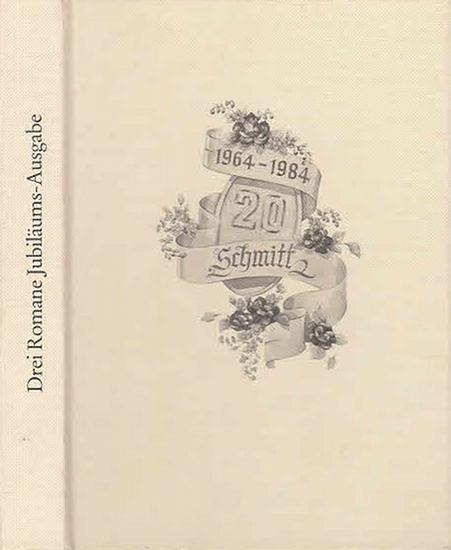 Vinanda, Ingrid/ Hermina Black / Janice Gray: Zauberhafte Bettina / Die unsichtbare Flamme / Frei wie der Wind. Drei Romane - Jubiläumsausgabe 20 Jahre Schmitt 1964-1984, 0