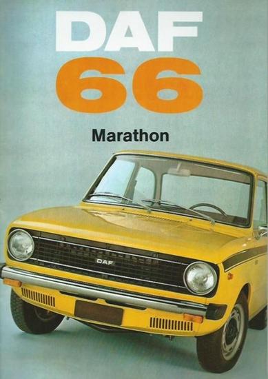 Deutsche DAF GMBH, Erkrath bei Düsseldorf: DAF 66 - Marathon.