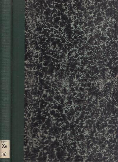 Mitteilungen des Vereins für die Geschichte Berlins - Frensdorff, Ernst (Hrsg.): Mitteilungen des Vereins für die Geschichte Berlins. 25. Jahrgang 1908, komplett mit 12 Heften.