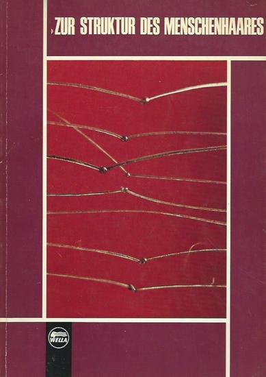 Wella International. - Zur Struktur des Menschenhaares. Neue Einblicke und Erkenntnisse. Aus der Forschung der Wella International. Raster-Elektronen-Mikroskop-Aufnahmen.