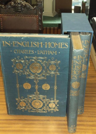 Latham, Charles. - H. Avray Tipping (Introd.): In english homes. the internal character furniture and adornments of some of the most notable houses of england historically accurately depicted from photographs specially taken by Charles Latham Vol. I, II a