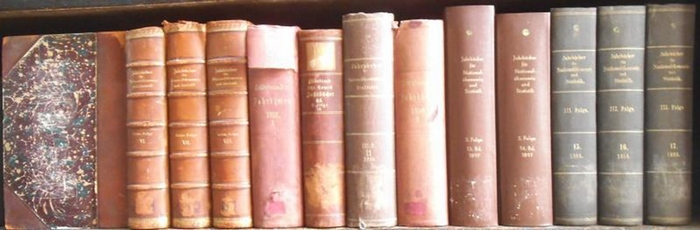 Hildebrand, Bruno (Gründer) / J. Conrad (Hrsg.) / Loening, Dr. Edg. / Lexis, W. / Elster, L. (Hrsg.). - Autoren: Franz Sarter, Kurt von Rohrscheidt, A. Wirminghaus, Georg Heimann, Paul Barth, Wilhelm Stieda, Dr. Lastig, Richard Rössger, H. v. Scheel, F...
