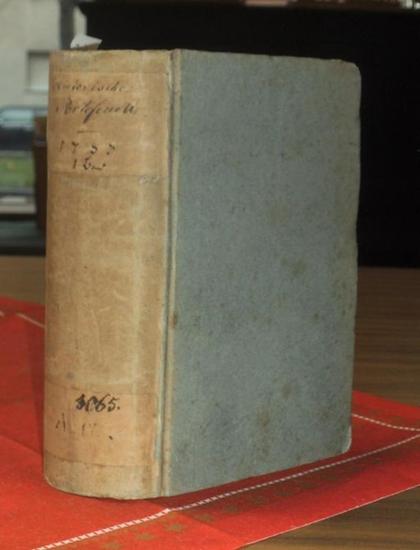 Historisches Portefeuille. - Historisches Portefeuille auf das Jahr 1783. Erstes Stück Monat Januar bis sechstes Stück Monat Juni.