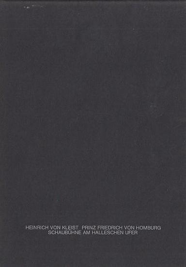Schaubühne am Halleschen Ufer. Zeitgenössisches Theater. Berlin. Heinrich von Kleist. Prinz Friedrich von Homburg. Spielzeit 1972. Regie Peter Stein. Kostüm Moidele Bickel. Bühnenbild Karl Ernst Herrmann. Dramaturgie Botho Strauß. Darsteller Peter Lühr...
