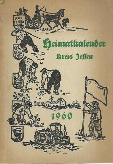Jessen (Elster). - Heimatkalender für den Kreis Jessen 1960. Herausgeber: Deutscher Kulturbund.