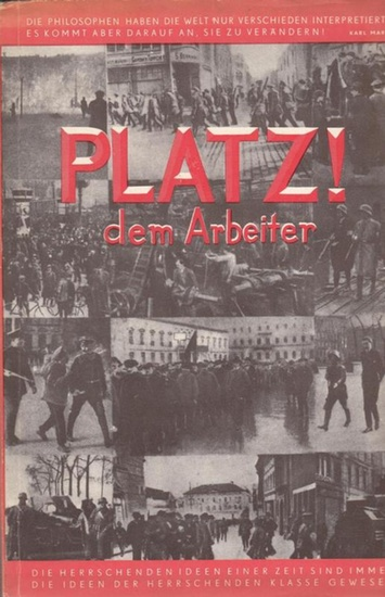 Hartfield, John Platz dem Arbeiter. Erstes Jahrbuch.