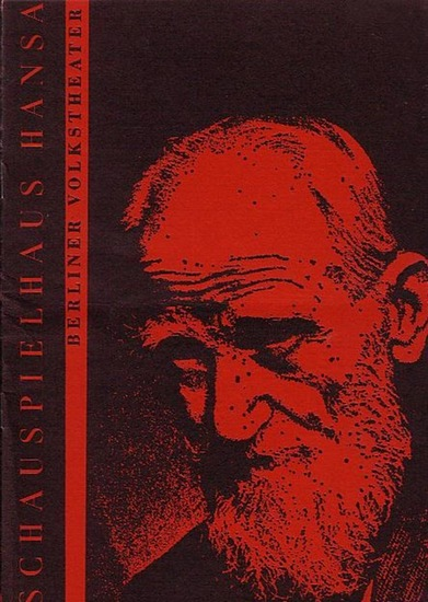 George Bernard Shaw.- Programmheft Berlin- Hansatheater- Intendanz- (Hrsg.) Frau Warrens Gewerbe Programmheft des Hansa Theaters Berlin 1968.