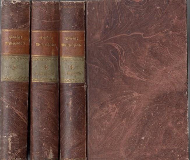 Schröckh, Johann Mathias: Allgemeine Weltgeschichte für Kinder. Vierter Theil in 3 Bänden komplett, leider ohne die Kupfer.