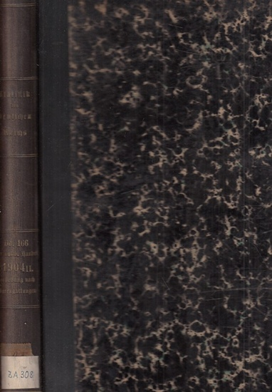 Statistik des Deutschen Reichs. / Kaiserliches Statistisches Amt. - Auswärtiger Handel des deutschen Zollgebiets im Jahre 1904 - 2. Teil - Darstellung nach Warengattungen