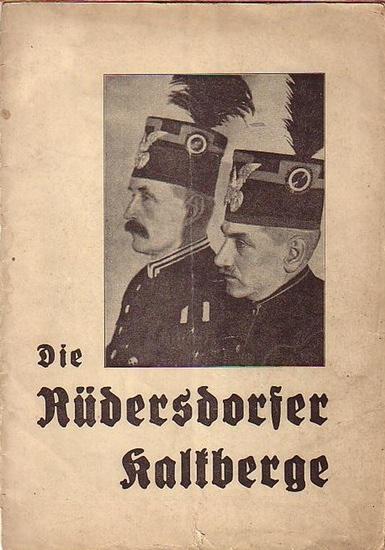 Rüdersdorf. - Die Rüdersdorfer Kalkberge. Herausgegeben vom Verkehrsausschuß und von der Gemeindeverwaltung Kalkberge.