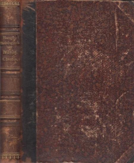 Bunge, G.: Lehrbuch der physiologischen und pathologischen Chemie. In fünfundzwanzig Vorlesungen für Ärzte und Studirende.