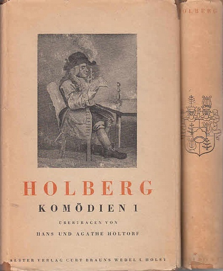 Holberg, Ludwig: Komödien. Kpl. In 2 Bdn.