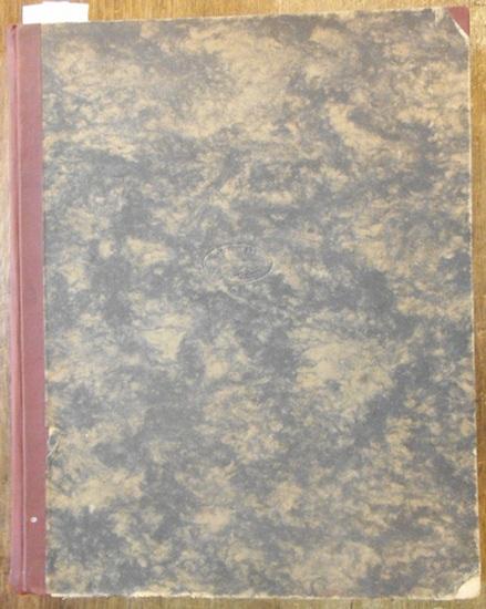 Statistik des Deutschen Reiches. - Kaiserliches Statistisches Amt (Hrsg.): Statistik des Deutschen Reichs für das Jahr 1880. Band 43 (XLIII). 1. Halbband mit den Heften 1 - 6).