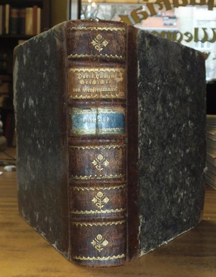 Hume, David Geschichte von Großbritannien Erster Band, der die Regierungen Jakobs I. und Carls I. enthält. Zweyter Band, der das gemeine Wesen und die Regierungen Carls II. und Jakobs II. enthält.