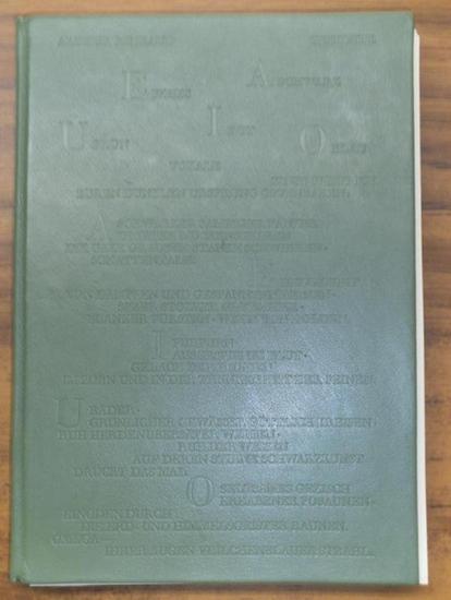 Naumann, Hermann. - Rimbaud, Arthur: Gedichte. Französisch - Deutsch. Mit 10 signierten Radierungen ( davon 1 lose beiliegend) und 8 signierten Punzenstichen von Hermann Naumann.