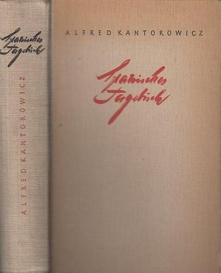 Alfred Kantorowicz: Spanisches Tagebuch.
